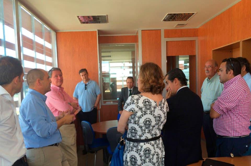 Grupo Proa visita su sede en Geolitt