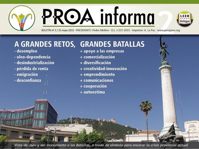 Boletín nº2 PROA informa